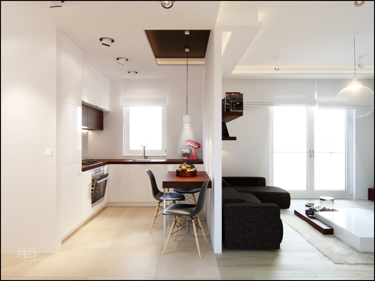 Дизайн однокомнатной квартиры 40 кв. м - лучшие фото и проек.